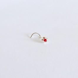 Rožica z rdečim kristalčkom