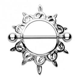 Afrodita Nipple piercing
